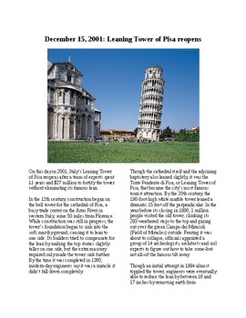 This Day in History - December 15: Leaning Tower of Pisa Reopens (no prep/sub)