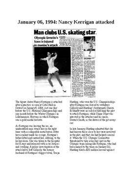This Day in History - December 6: Rival skater orders attack on Kerrigan