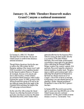 This Day in History - January 11: Grand Canyon becomes National Monument