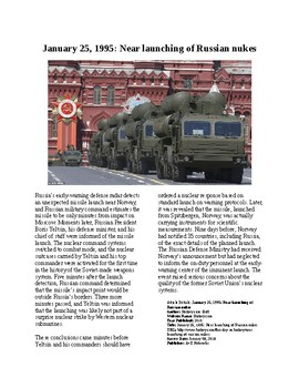 This Day in History - January 25: Near Russian nuclear launch (no prep/sub)