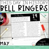 This Day in History May Bell Ringers   Daily Language   Morning Work