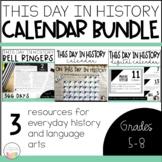 This Day in History Mega Bundle | Calendar | Digital Calendar | Bell Ringers