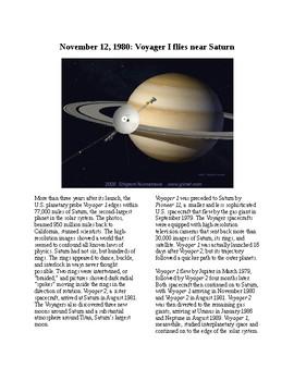 This Day in History - November 12: Voyager 1 Photographs Saturn (no prep/sub)