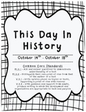 This Day in History: October 14th - October 18th