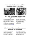 This Day in History - October 15: Two Vietnam protests occur 4 years apart