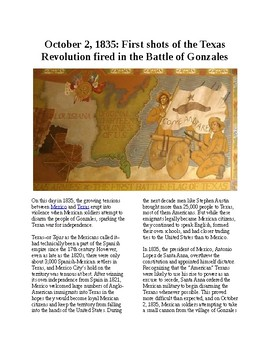 This Day in History - October 2: Texas Revolution begins with Battle of Gonzales