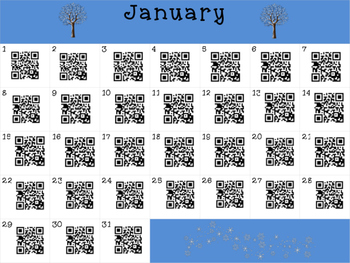 This Day in History QR Calendar-FULL YEAR BUNDLE