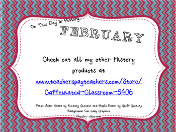 This Day in History QR Calendar-February
