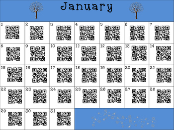 This Day in History QR Calendar-January