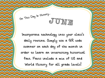 This Day in History QR Calendar-June
