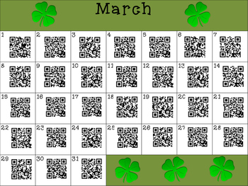 This Day in History QR Calendar-March