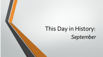 This Day in History: September