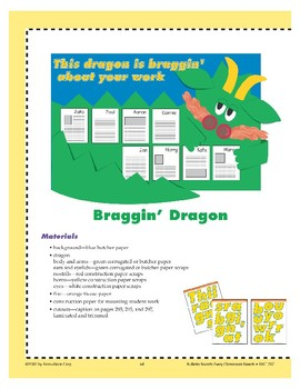 This Dragon Is Braggin'... (Bulletin Board)