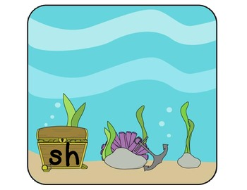 This Fish... That Fish... - A Sh and Th Digraph Picture Sort