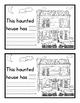 This Haunted House... Easy Reader and Fill In the Blank Student Writing Template