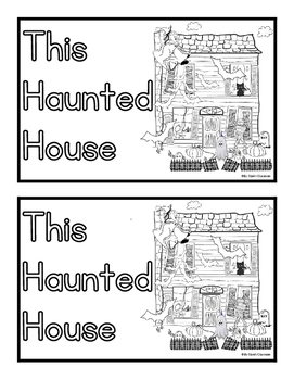 This Haunted House... Easy Reader and Fill In the Blank St