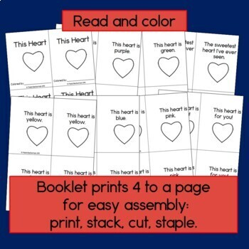 This Heart Poem and Emergent Reader