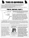 This Is Georgia - History, Part 2 - Georgia Studies GSE