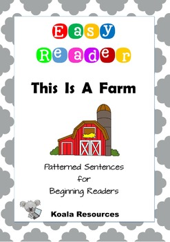 This Is A Farm Easy Reader Patterned Sentences for Beginning Readers