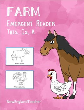 This Is A Farm: Printable Emergent Reader Book for Young Readers