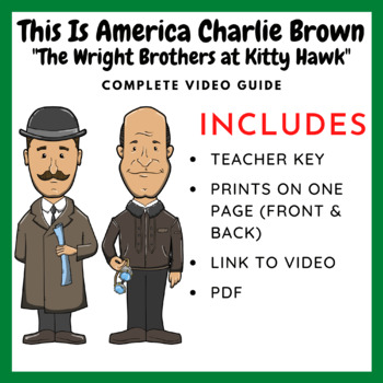 This Is America Charlie Brown: The Wright Brothers at Kitt