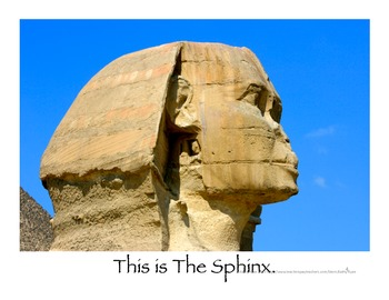This Is Egypt--Informational Mini-Book for Beginning Readers