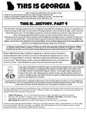 This Is Georgia - History, Part 4 - Georgia Studies GSE