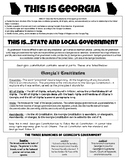 This Is Georgia - State and Local Government - Georgia Studies GSE