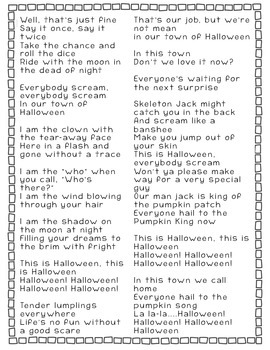 This Is Halloween: Similes & Metaphors