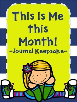 This is Me this Month! Yearlong Journal Keepsake! Updated!