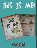 "This Is Me (a keepsake ""All About Me"" book)"