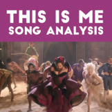 This Is Me song analysis for elementary aged students