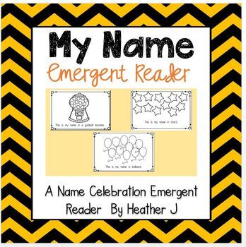 This Is My Name Emergent Reader