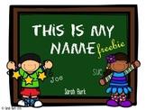 This Is My Name! Freebie