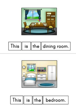 This Is The House Inside Easy Reader Patterned Sentences For Beginning Readers