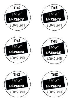 This Is What A Reader Look like! {Badges/Buttons/Tags}