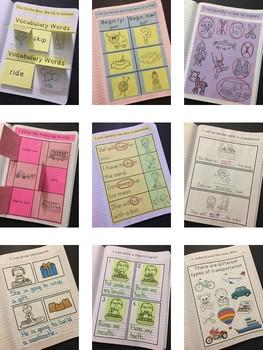This Is the Way We Go to School Interactive Notebook~Reading Street Kindergarten