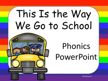 This Is the Way We Go to School, Kindergarten, Interactive