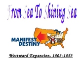 This Land is Our Land: Westward Expansion