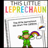 This Little Leprechaun: Adapted Book for Early Childhood Special Education