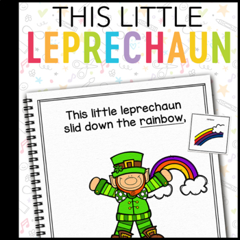 This Little Leprechaun: Adapted Book for Students with Autism & Special Needs