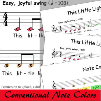 This Little Light Of Mine - Boomwhackers® Bells Glockenspiel Sheet Music