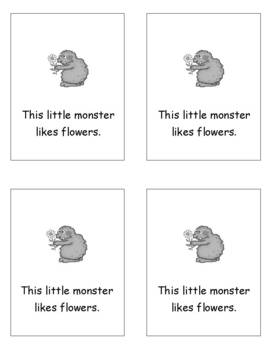 This Little Monster Halloween Tiny Tale