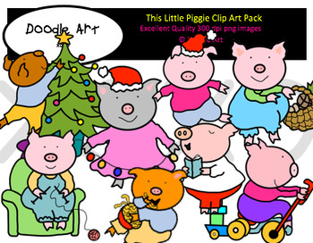 This Little Piggie Clipart Pack