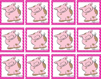 This Little Piggy! A High Frequency Word Game