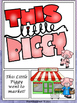 This Little Piggy - Comic Strip Style Nursery Rhyme Story