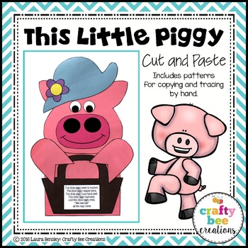 This Little Piggy Cut and Paste