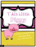 This Little Piggy ELA and Math Unit (Three Little Pigs)