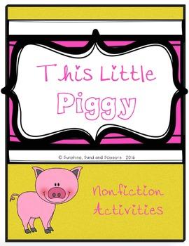 This Little Piggy ELA and Math Unit (Three Little Pigs)