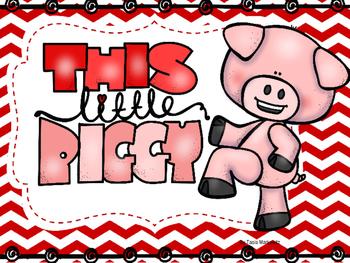 This Little Piggy Nursery Rhyme Printable